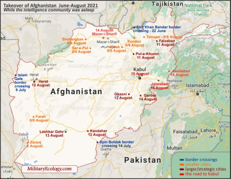The Afghan Evacuation Crisis, Intelligence or Political Failure? Likely a Mix ofBoth
